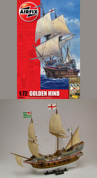 AIRFIX A50046 Golden Hind Gift Set 1:72