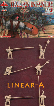 REDBOX 72101 Italian Infantry PIKE 16th Cent. Set 3