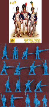 HÄT 8095 NAPOLEONIC FRENCH LINE 1808-1812 INFANTRY