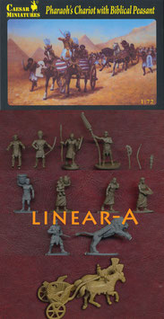 CAESAR H042 PHARAO`S CHARIOTS WITH BIPLICAL PEASANT