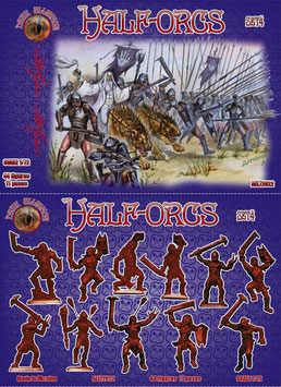 DARK ALLIANCE ALL 72022 HALF-ORCS SET 4