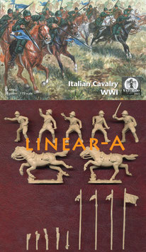 WATERLOO AP042 WWI Italian Cavalry
