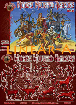 DARK ALLIANCE ALL 72026 MODERN MOUNTED AMAZONS