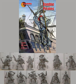 MARS 72070 ZOMBIE PIRATES SET 1
