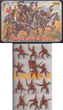 STRELETS 022 Saxon Garde du Corps (RE-ISSUE)