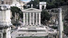 linear-A Rome 01 Caesar-Tempel 1:72 Bausatz