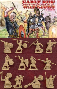 ORION 72029 EARLY RUS WARRIORS 9-11th Century