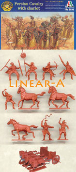 ITALERI 6036 PERSIAN CHARIOT WITH CAVALRY V-IV. B.c.