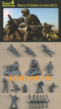 CAESAR H094 MODERN US SOLDIERS IN ACTION SET 2