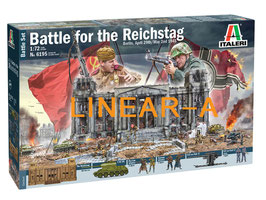 ITALERI 6195 Battle for the Reichstag 1945 - BATTLE SET