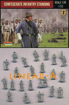 STRELETS 156 Confederate Infantry Standing