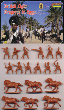 STRELETS 119 NAPOLEONIC BRITISH LIGHT DRAGOONS IN EGYPT