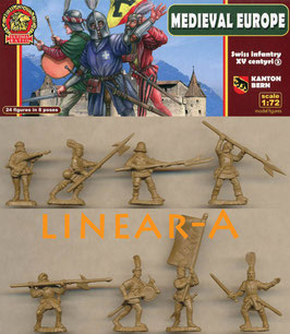 ULTIMA RATIO UR008 Swiss infantry Kanton Bern Set 2 XV Century