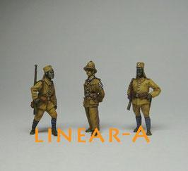 """munich-Kits FHEW14 Deutsche Kolonie """"Ost Afrika"""" 1914 Set 1"""