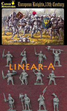 CAESAR H091 EUROPEAN KNIGHTS (15th CENTURY)