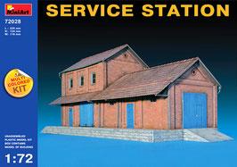 MINIART 72028  SERVICE STATION 1:72