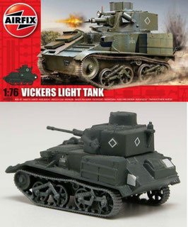 AIRFIX A02330 VICKERS LIGHT TANK 1:76