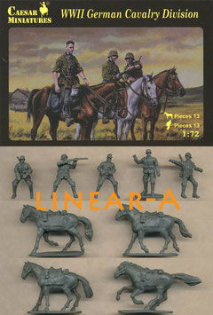 CAESAR H092 WWII GERMAN CAVALRY DIVISION