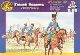 ITALERI 6008 Napoleonic French Hussars - Secondhand