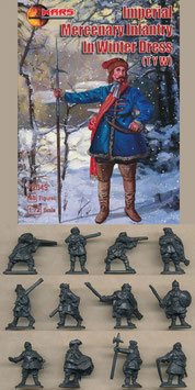 MARS 72049 IMPERIAL MERCENARY INFANTRY IN WINTER DRESS