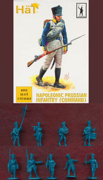 "HÄT 8255 NAPOLEONIC PRUSSIAN INFANTRY ""COMMAND"""