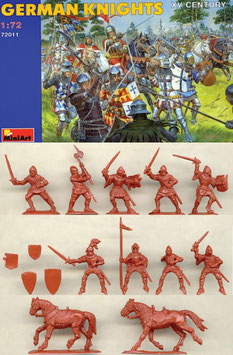 MINIART 72011 GERMAN KNIGHTS
