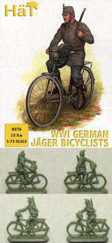 HÄT 8276 WWI GERMAN JÄGER BICYCLIST