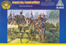 ITALERI 6018 Napoleonic French Line/Guard Artillery - Secondhand