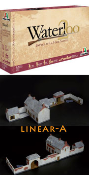 ITALERI 6111 Waterloo 1815 Anniversary Battleset - Battle at la Haye Sainte