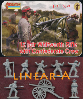 STRELETS 183 Whitworth Rifle with Confederate Crew