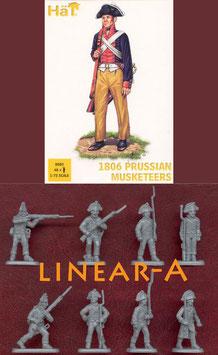 HÄT 8083 Napoleonic 1806 Prussian Musketeers