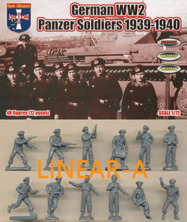 ORION 72058 German WWII Panzer Soldiers 1939-1940