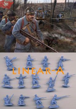 STRELETS M130 WWI Polish Infantry (Blue Army)