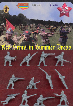 STRELETS M045 WWII RED ARMY IN SUMMER DRESS