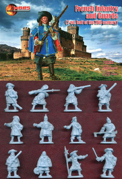 MARS  72083 FRENCH INFANTRY AND GUARDS 2 HALF 17 Century