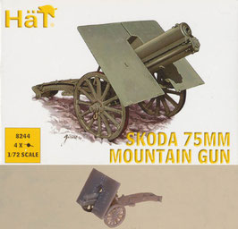 HÄT 8244 WWI SKODA 75mm MOUNTAIN GUN