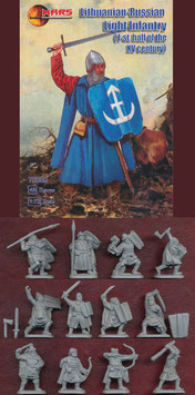 MARS 72060 LITHUANIAN-RUSSIAN LIGHT INFANTRY XV CENTURY