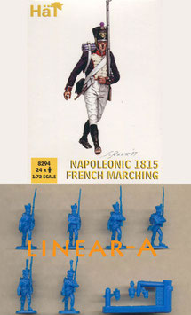 HÄT 8294 NAPOLEONIC 1815 FRENCH MARCHING
