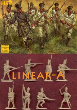 HÄT 8027 Napoleonic Austrian LINE Infantry