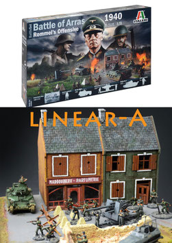 Italeri 6118 BATTLE OF ARRAS 1940 ROMMEL`S OFFENSIVE