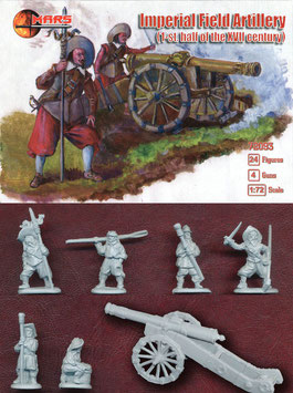 MARS  72093 IMPERIAL FIELD ARTILLERY 17th Century