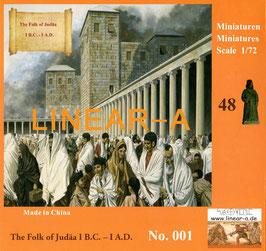 LINEAR-A 001 The Folk of Judäa 1.B.C.-1 A.D.