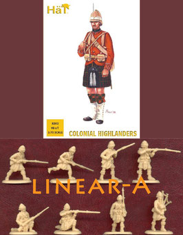 HÄT 8202 COLONIAL WARS HIGHLANDERS