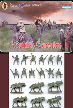 STRELETS 075 WWI BRITISH CAVALRY