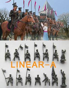 Strelets 228 Prussian Uhlans