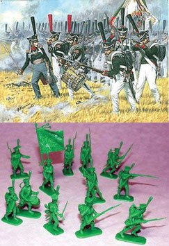 ZVEZDA 8020 RUSSIAN HEAVY INFANTRY GRENADIERS