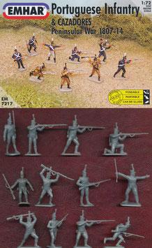 EMHAR 7217 PORTUGUESE INFANTRY & CAZADORES PENINSULAR WAR 1807-1814