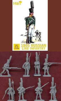 HÄT 8072 NAPOLEONIC 1805 Russian Line Infantry