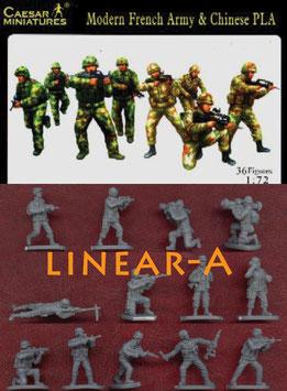 CAESAR H059 MODERN FRENCH + CHINA ARMY