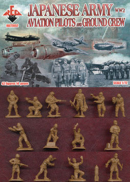 REDBOX 72052 WWII Japanese Army Aviation Pilots and Ground Crew
